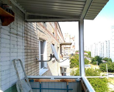 Сварные работы балкон